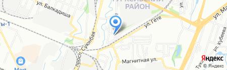 ДАЛИ ДМД на карте Алматы
