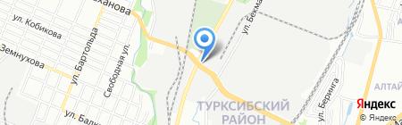 Агрозапчасти на карте Алматы