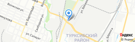 Medalist на карте Алматы