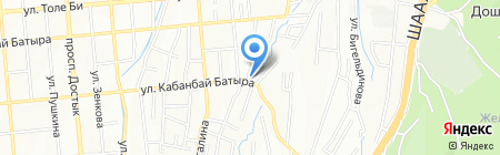 МегаПринт на карте Алматы