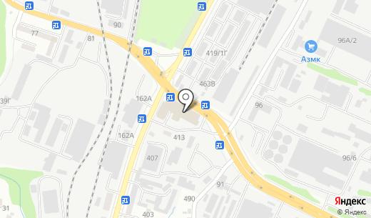 Huseinoff. Схема проезда в Алматы