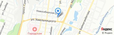 Real Service СТО на карте Алматы