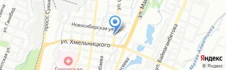 Аян продовольственный магазин на карте Алматы
