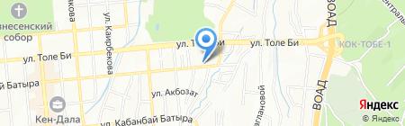 Армади на карте Алматы