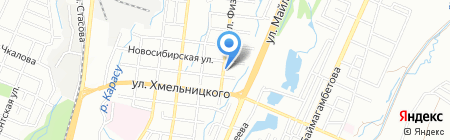 Azimuth Cargo на карте Алматы