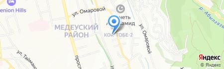 КС-Гриф на карте Алматы