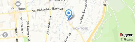 ШАМ-СИЯ на карте Алматы
