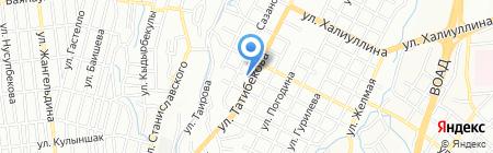 Алматинский областной центр психического здоровья и наркологических расстройств на карте Алматы
