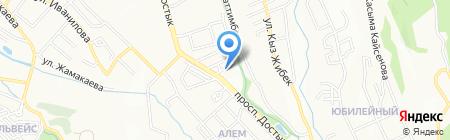Позитив на карте Алматы