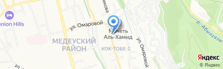FALCON KRM Industry на карте Алматы