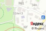 Схема проезда до компании Тип-Топ в Алматы