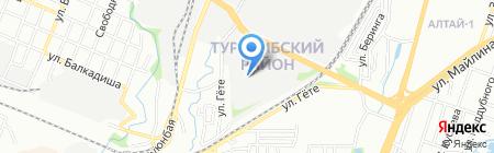 Кров Импорт на карте Алматы