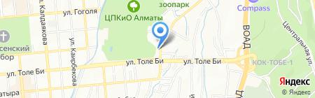 Алемвет на карте Алматы