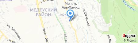 Посольство Греции в г. Алматы на карте Алматы