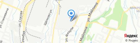 Техснабсервис на карте Алматы