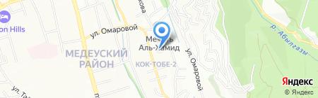 Caspian Contractors Trust на карте Алматы