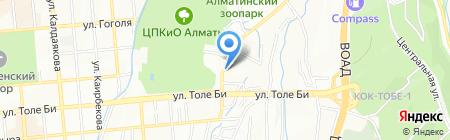 Алматинский областной центр по профилактике и борьбе со СПИД на карте Алматы