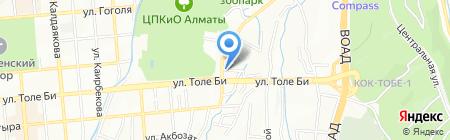 А-1 на карте Алматы