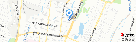 Агапе на карте Алматы