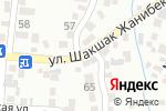 Схема проезда до компании Плюс в Алматы