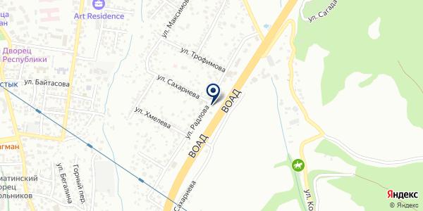 Dope на карте Алматы