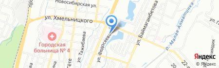 Центр авторазбора на карте Алматы