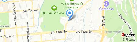 Ка-Росс на карте Алматы