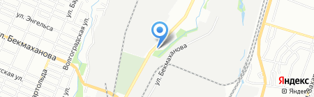 Ясли-сад №86 на карте Алматы