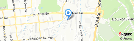 Clean-stroy24.kz на карте Алматы