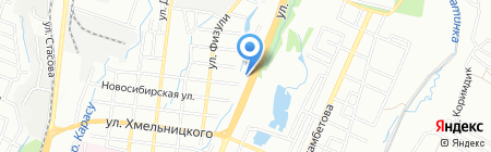 Малышок на карте Алматы