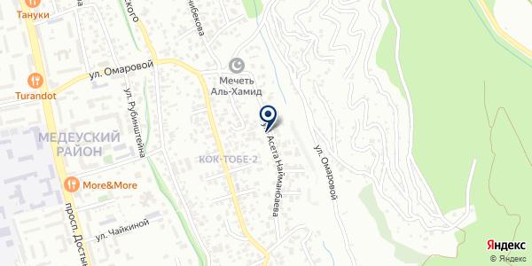 ИФГ КОНТИНЕНТ на карте Алматы