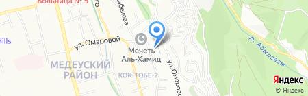 Shambala Invest Stroy на карте Алматы