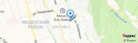 КАЗГЕОКОСМОС АО на карте Алматы