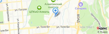 Медеуский районный эксплуатационный участок на карте Алматы