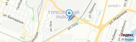 Теплоинвест на карте Алматы
