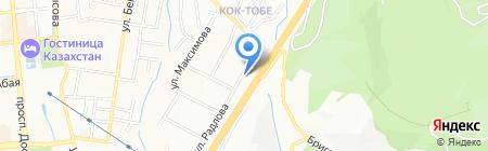 Roaming.kz на карте Алматы