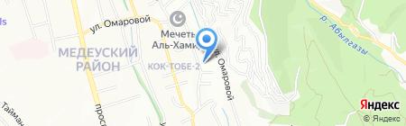 KOKTOBE на карте Алматы