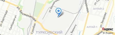 Шариф Металл на карте Алматы