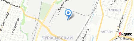 АССССТРОЙСНАБ на карте Алматы