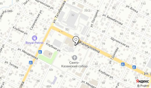 Мулен Руж. Схема проезда в Алматы