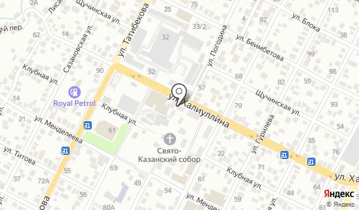 Пышшка. Схема проезда в Алматы