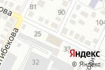 Схема проезда до компании Paint Service в Алматы