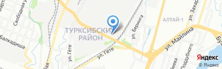 СП 96 на карте Алматы