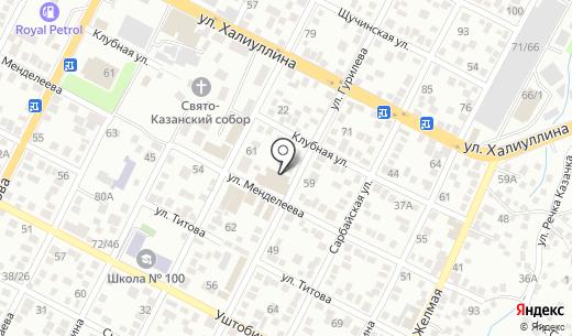 Кооператор. Схема проезда в Алматы