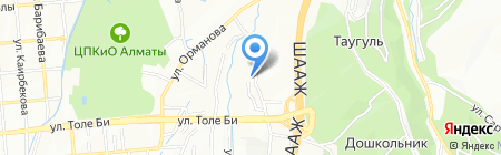 Delta Energy на карте Алматы