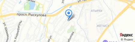 Saibak на карте Алматы