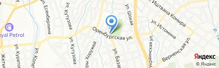 Арктур-А ТОО на карте Алматы