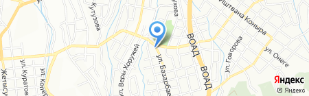 КДС на карте Алматы
