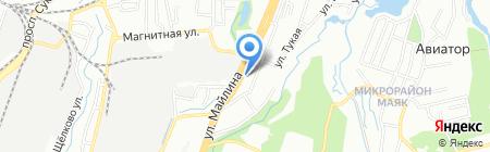 Кулагер продуктовый магазин на карте Алматы