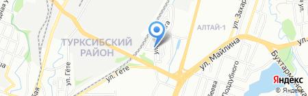 Супердрайв на карте Алматы
